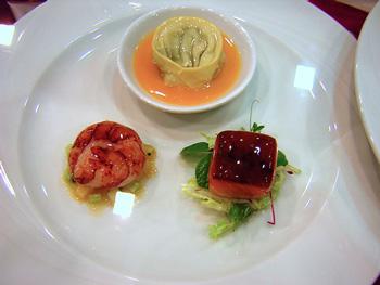 Crab Cake Terrine